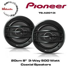 "Pioneer TS-A2013i - 20cm 8""  3-Way 500Watt Coaxial Speakers"