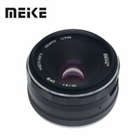 Meike 25mm F1.8 APS-C Large Aperture Wide Angle Lens Manual Focus Lens for Sony