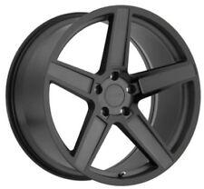 17x8 TSW Ascent 5x114.3 Rims +40 Black Wheels (Set of 4)