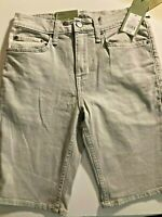 """Goodfellow & Co Men's 10.5"""" Slim Fit Solid Jean Shorts Gray Size 42 New w/ Tags"""