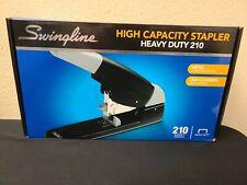 Swingline High Capacity Heavy Duty Stapler 210 Sheet Capacity Blk New Free Sh