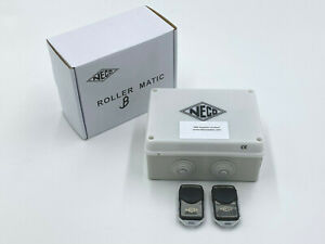 Neco Rollermatic B controller for 3 phase motor for shutters with 2 remotes
