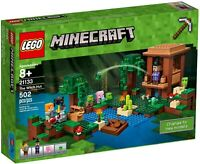 NEW LEGO Minecraft 21133 The Witch Hut + Swamp + Boat + 6 Figures SEALED 6174358