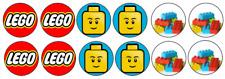 Lego Edible Image Cupcake Toppers12x 3cm #46