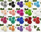 US 25 Artificial Rose Flower Floral Bridal with Stem Wedding Bouquet  Decoration