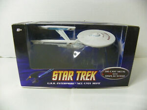 Hot Wheels Star Trek Die Cast Enterprise NCC 1701 Refit MIB