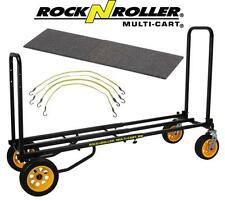 RocknRoller Multi-Cart R18RT Ground Glider Mega With Solid Deck & Flex Straps,