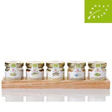 Miele BIOLOGICO regalo Board-TIGLIO, castagno, acacia, Wildflowers, Arancione