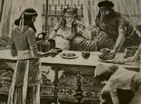 1910 CUPBEARER OF THE KING Print J James Tissot King Artaxerxes Nehemiah Bible