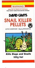 Snail Slug Killer Pellets Bait 500g David Grays In Garden Flower Beds Vegetables