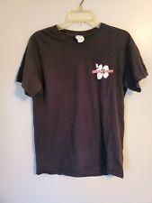 Trader Joes Flower Logo T Shirt Black Employee Size Medium