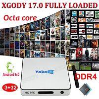 XGODY NEW DDR4 3+32GB S912 Android 6.0 TV BOX Octa Core 4K HD Movies 17.0 Add-on