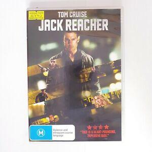 Jack Reacher Movie DVD Region 4 AUS - Action