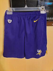 NFL Nike Dri Fit Minnesota Vikings Purple Shorts Size Medium