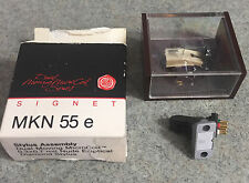 Signet MK55E Moving Coil Phono Cartridge & NIB MKN 55 e Stylus Needle