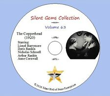 """DVD """"The Copperhead"""" (1920) Lionel Barrymore, Anne Cornwall,Classic Silent Drama"""
