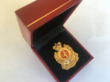 Collectible Obsolete Hong Kong Fire Service small pin ,multi-color pre-owned