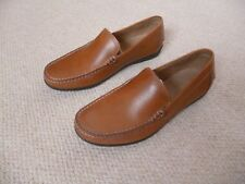 Mens Geox loafers tan 9.5 UK (43.5 EU)