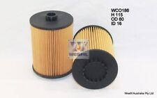 WESFIL OIL FILTER FOR Volkswagen Passat 3.6L V6 3.6L V6 FSi 2012 07/12-on WCO186