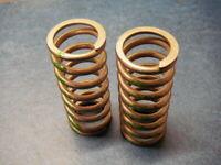 "Steel Compression Spring 1"" OD x 11/16 ID x 1/8"" Wire x 2-1/4"" Long"
