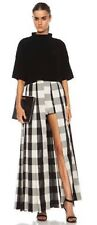 It's A Jungle Out There Sass & Bide Black Check Maxi Skirt NWT!