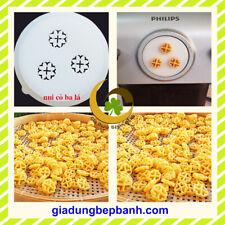 Pasta maker disc - glover shape