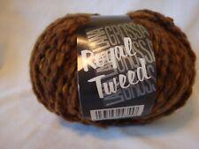 Lana Grossa Yarn Royal Tweed Brown #42 50 g 100% Merino Fine (Wool) NEW