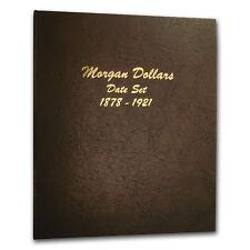 Dansco Album #7171 - Morgan Dollars 1878-1921 Date Set - SKU #560