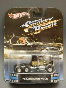 HW Retro Entertainment 2013 Smokey & The Bandit '75 Kenworth W900 Burt MOEXC
