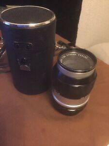 Nikkor-Q 1:3.5 f=135mm Lens