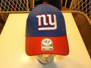 New York Giants NFL 47 Brand Contender stretch-fit hat OSFM