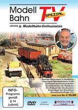DVD Modellbahn TV Spezial - Ausgabe 8 - Modellbahn-Enthusiasten