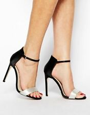 "Karen Millen Satin Very High (greater than 4.5\) Women's Heels"""