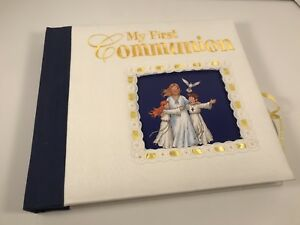 My First Communion Photo Memory Album Book Catholic Book Communion Keepsake!