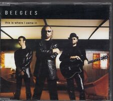 BEE GEES This Is Where I Came In 1 track PROMO CD SINGLE POLYDOR TIWCI1