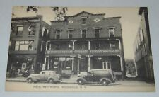 Vintage HOTEL WENTWORTH Postcard WOODSVILLE NH