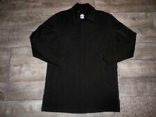 Tumi Tech Men's Black Weather Resistant Quilt Lining Jacket Men's Size Large LG