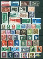 DDR Jahrgang 1957 , postfrisch , Auswahl aus Michel Nr. 559 - 615