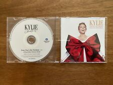 "Kylie Minogue Rare ""Every Day's Like Christmas"" Saw Promo Single Remix Benelux"