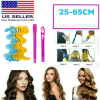 Water Wave Magic Curlers Formers Tool Leverage Spiral Hairdressing US Stock