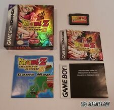 Dragon Ball Z THE LEGACY OF GOKU 2 (Game Boy Advance) COMPLETE GBA w/Poster RPG