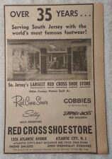 1964 Red Cross Shoe Store - Atlantic City New Jersey Advertisement