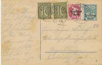 DT.REICH 1922 30 Pf Eichenstamm Bayern-Überdruck GA-ANTWORT-Postkarte KOMPLETT
