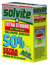 Solvite All Purpose Wallpaper Adhesive Decorator's Box by Solvite