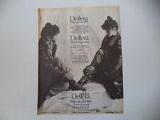 advertising Pubblicità 1981 PELLICCE DELLERA