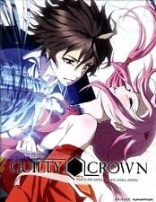 Guilty Crown: Part 1 (Blu-ray/DVD, 2013, 4-Disc Set)