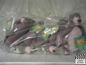 Baloo Jungle Book plush bean bag toy  Applause from a  SEALED bag 7 inches tall