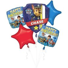 Party Supplies Birthday  Decorations Boys Shape Foil Balloon Bouquet Paw Patrol