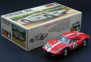 Monogram Porsche 904 Carrera GT Filipinetti Le Mans 1964 Mueller 1:24  slot car