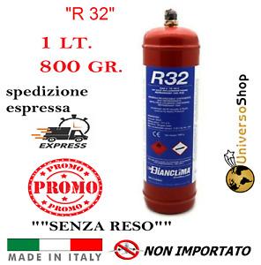 GAS R32 REFRIGERANTE RICARICA PER CLIMATIZZATORI CONDIZIONATORI BOMBOLA R32